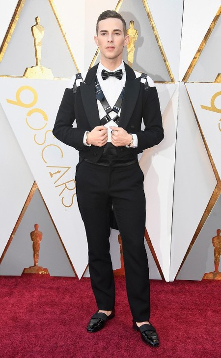 El Patinador Adam Rippon Inaugura La Red Carpet De Los Premios Oscar Con Un Toque Bondage 2