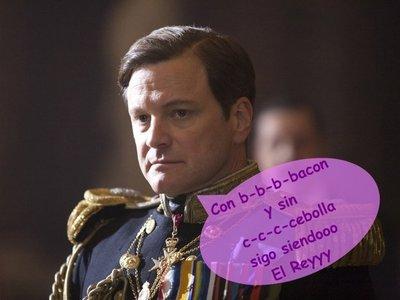 Me ponga un Colin Firth con bacon y sin cebolla