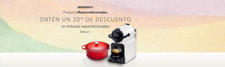 20% de descuento adicional en Productos Reacondicionados de Amazon