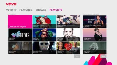 Xbox One incorporó más aplicaciones a su catálogo esta semana, entre ellas VEVO