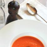 Receta de crema de tomate, zanahoria y jengibre