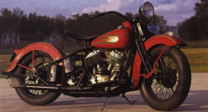Seis motores para una historia, Harley Davidson Flathead (1)