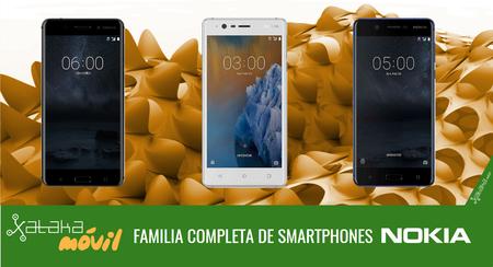 Nokia 3, Nokia 5 y Nokia 6, smartphones accesibles para todos para reconquistar el mercado móvil