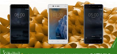 Los Nokia 3, Nokia 5 y Nokia 6 llegan a España desde 159 euros
