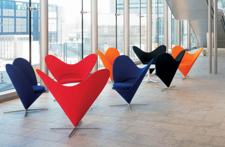 Silla Heart Cone Chair
