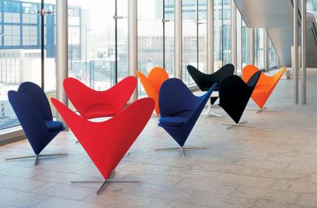 Silla Heart Cone Chair