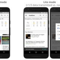 Google Noticias y Tiempo será más ligero y usará menos datos