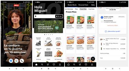 Gorillas App