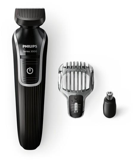 Recortador de barba Philips QG3320/15 al precio más bajo en Amazon, sólo 14,90 euros
