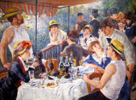 El gusto por alimentos indulgentes en el arte