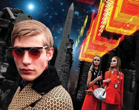 Prada Otoño-Invierno 2012/2013: El futuro y el pasado se fusionan en clave de fantasía