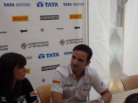 Vitantonio Liuzzi habla sobre su llegada a Hispania Racing F1 Team