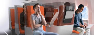 Ideas locas de los diseñadores de asientos para que las aerolíneas sean más seguras frente al Covid-19