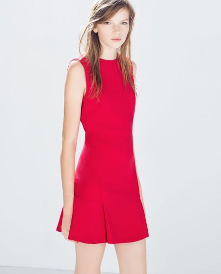 Vestidos de fiesta rojos zara