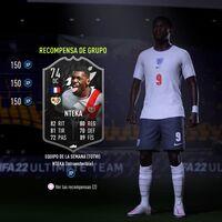 FIFA 22: consigue la carta Estrellas de Plata: Nteka Intransferible