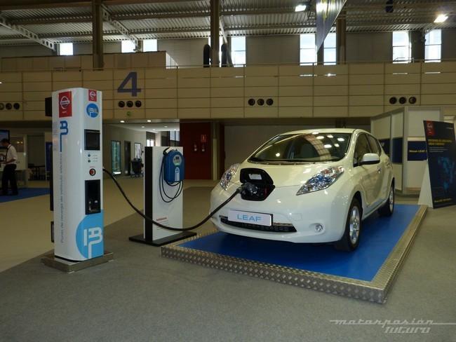Nissan leaf recarga rápida CHADEMO