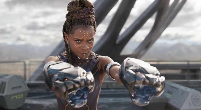 Letitia Wright en Black Panther