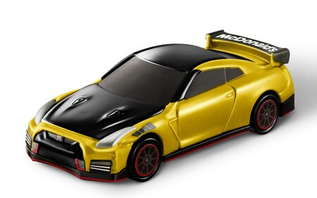 Nissan Gtr Mcdonalds 4