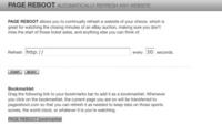 Pagereboot, recarga cualquier sitio web de forma periódica