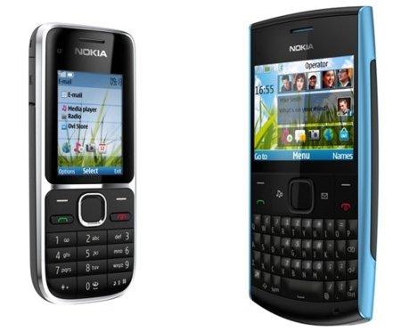 Nokia C2-01 y X2-01, ampliando la gama baja
