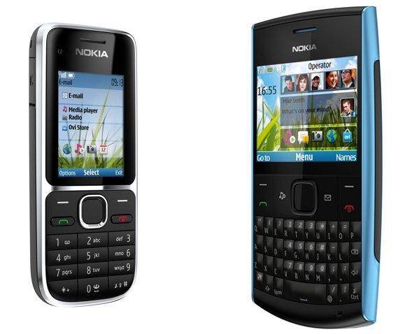 Nokia X2-01 y C2-01, ampliando la gama baja