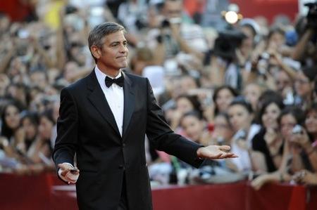 Festival de Venecia 2009 George Clooney III