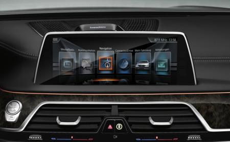 BMW Serie 7 display interior