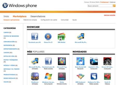 Windows Marketplace ahora también en la web