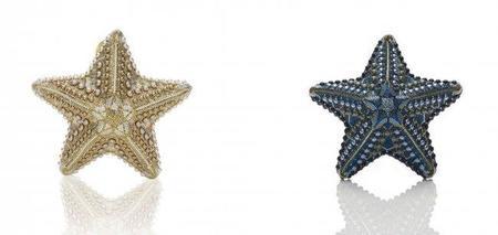 Novedades en Judith Leiber, un bolso de lujo en forma de estrella marina