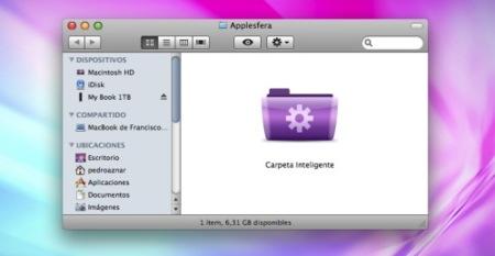 Carpetas inteligentes, cómo trabajar con ellas en Mac OS X