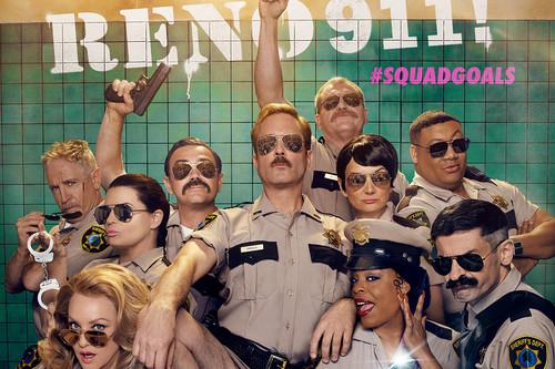 'Reno 911!': Quibi sirve en bandeja el triunfal regreso de la comisaría de policía más inepta de la televisión