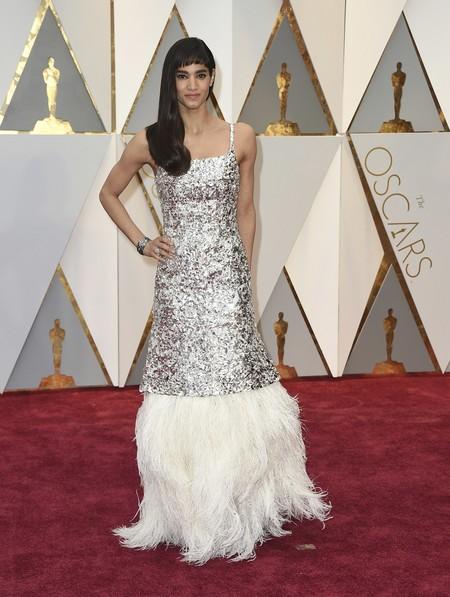 Sofia Boutella Chanel Oscars 2017