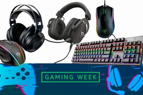 17 ofertas en periféricos gaming Razer y Trust en la Gaming Week de Amazon