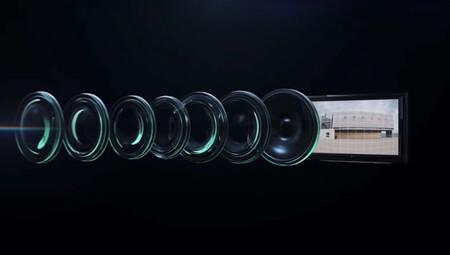 Lente de la cámara Ultra Wide Cine Camera del Huawei Mate 40 Pro+