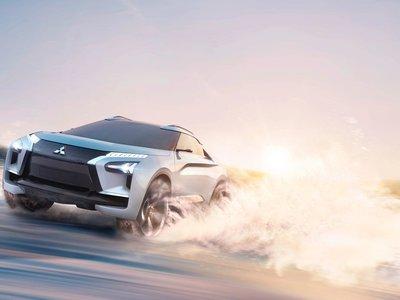 Mitsubishi resucita su vena radical con el e-Evolution Concept, pero sí, es otro SUV eléctrico