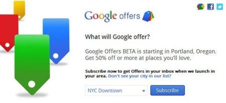 Google Offers se pone en marcha en Estados Unidos