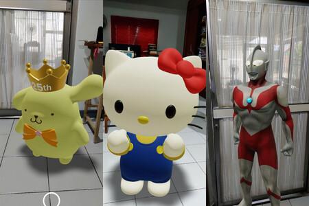 Pac-Man, Hello Kitty, Gundam y otros personajes 3D llegan a tu casa con la realidad aumentada de Google