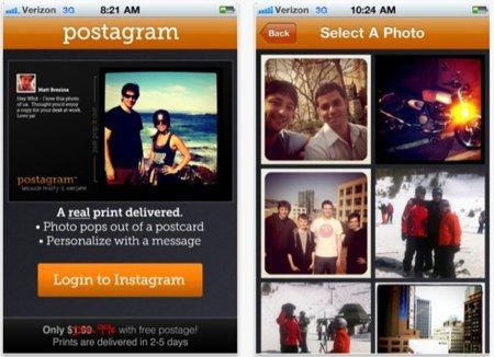 Más servicios asociados a Instagram: Postagram