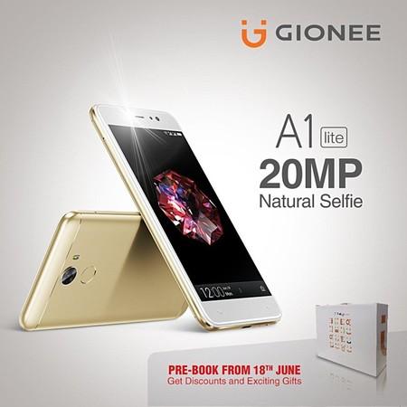 Gionee A1 Lite: selfies de 20 MP y 4.000 mAh para la gama media
