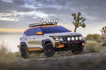 Seltos X Line Trail Attack Concept
