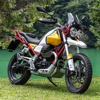 La Moto Guzzi V85 TT cuesta 10.990 euros, una retro-trail capaz de hacer Madrid-Bilbao sin repostar