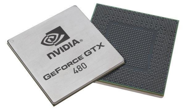 NVidia GTX 480 chips