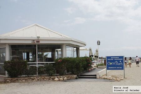 Restaurante Coco Beach, calidad y confort en primera línea de playa
