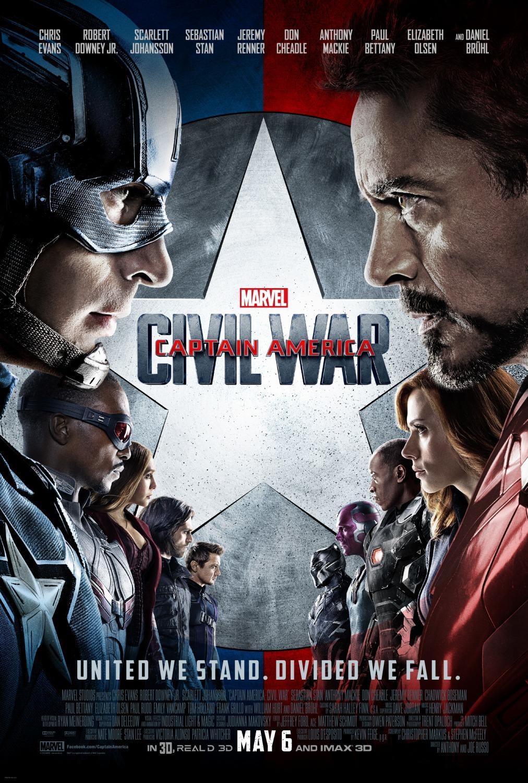 'Capitán América: Civil War', los carteles de la película