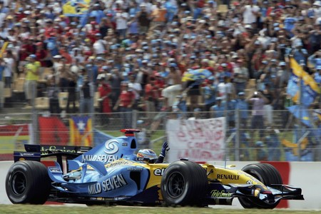 Fernando Alonso Montmelo 2006