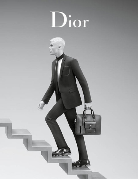 Baptiste Giabiconi Dior Homme Spring Summer 2016 Campaign 003