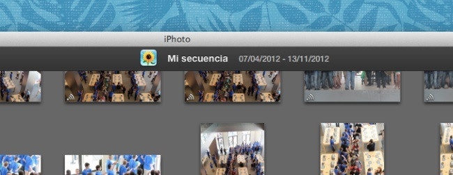 fotos en streaming iphoto apple