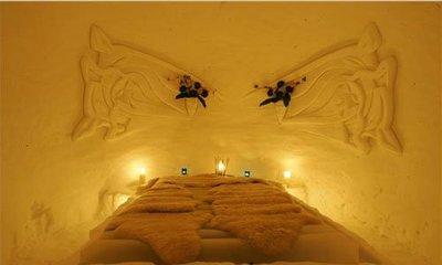 El primer hotel de hielo en Austria