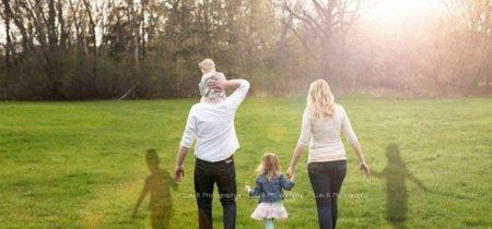 Unos padres que perdieron a sus gemelos por fin tienen una foto con todos sus hijos