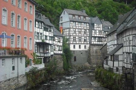 Monschau, un coqueto pueblo alemán junto a la frontera con Bélgica